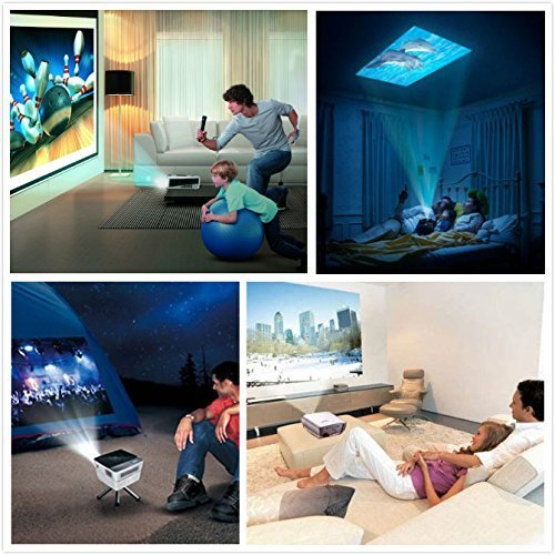 K2 led lcd qvga mini video projector international for Small lcd projector reviews