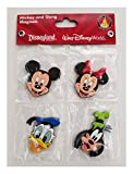 #4: Disney Parks Magnet Set - Mickey Minnie Mouse Goofy Donald Duck