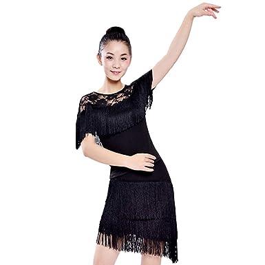 LONMEI Disfraz De Baile Latino para Mujer Falda De Baile Latino ...