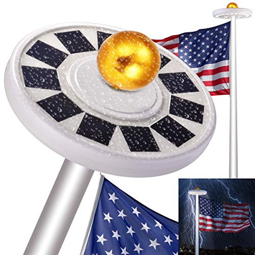 Flag Solar Lighting System in US - 6