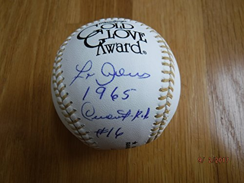 LEO CARDENAS 2013 Mall Show Signed & Dated Gold Glove Baseball -Lifetime Guaranteed - Show Mall