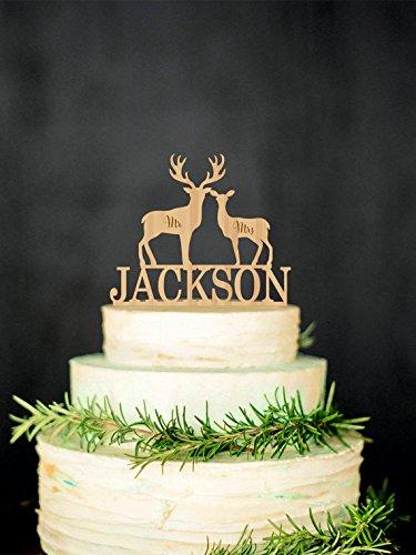 Cake Decorating Topper Hunting Fishing Lodge Deer Head Magnet