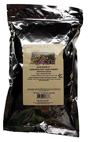 Check expert advices for sassafras root bark 1 lb?
