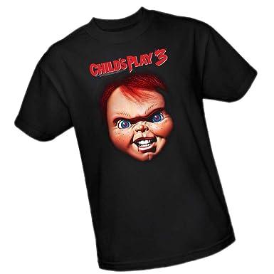 d67017ed Amazon.com: Chucky -- Child's Play 3 Adult T-Shirt: Clothing