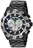 ROBERTO BIANCI WATCHES Men's 'Valentino' Swiss Quartz Stainless Steel Casual Watch, Color:Black (Model: RB70603)