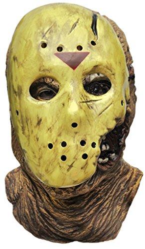 Voorhees Hockey Horror Halloween Costume