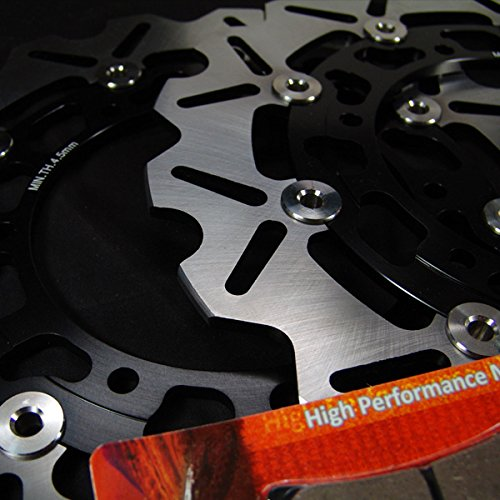 Yamaha Front Race Proven 420 Stainless Steel Brake Disc Rotor // VMX 1200 VMax Street Bike Pads Combo for VMX 12 V-Max 1993-2007 Sumo