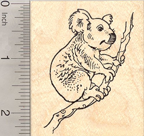 Koala Rubber Stamps Kritters In The Mailbox Animal Items