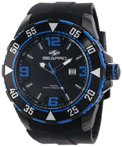 Seapro Men's SP1115 Diver Analog Watch