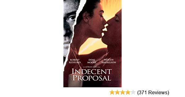 Amazon Indecent Proposal Robert Redford Demi Moore Woody
