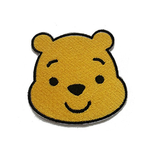 InspireMe Family Owned Winnie The Baby Bear Fully Embroidered Iron On Patch (3