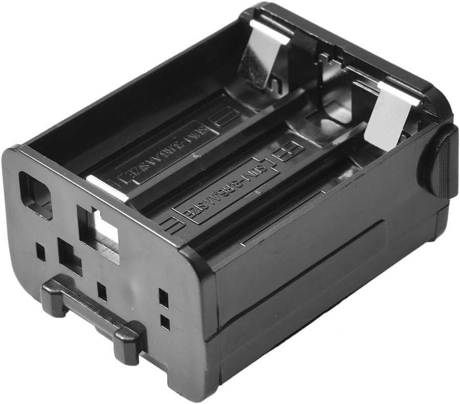 Caja de Almacenamiento de bater/ía Caja de Almacenamiento de bater/ía para Radio Kenwood Caja de bater/ía BT8 TH-28 TH-48 TH-78HT para Almacenamiento protecci/ón de bater/ías llenas y vac/ías