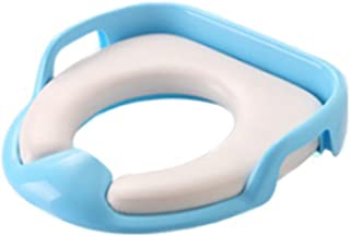 newin Star Siège de toilette, abattant wC pliable pour enfants, siège réducteur pour bébé, Toilet Trainer Seat Portable Adapté Pour La Plupart Des Tailles de wC (Bleu)