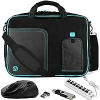 VanGoddy Laptop Messenger Bag w/ Flash Drive , Mouse & USB Hub for Lenovo Yoga 720 13.3 / 910 920 13.9