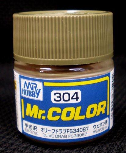 Mr.カラー C304 オリーブドラブFS34087