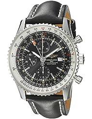 Breitling Mens A2432212/B726BKLT Black Dial Navitimer World Watch