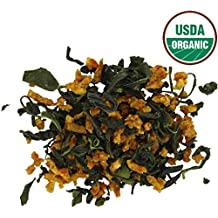 Teas Unique 2017 Korean Jeju Island Organic Green Tea with Mandarin Orange, 50g