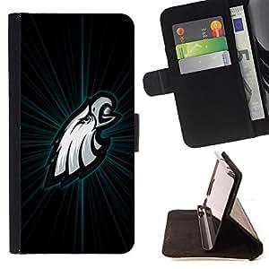 - cool eagle white green/ Personalizada del estilo del dise???¡¯???¡Ào de la PU Caso de encargo del cuero del tir???¡¯????n del s - Cao - For Apple Iphone