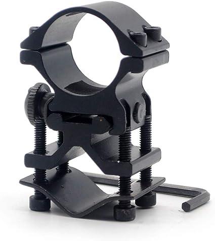 "25mm 1/"" Tactical 20mm Weaver Picatinny Rail Barrel Mount Ring Scope Adapter"