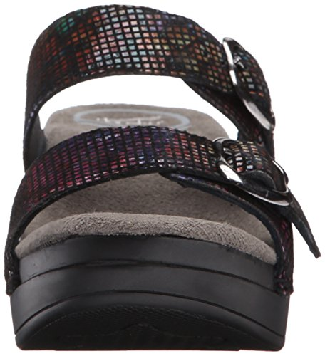 Black Glass Wedge Stained Dansko Women's Sophie Sandal fZ6xwIRnTq