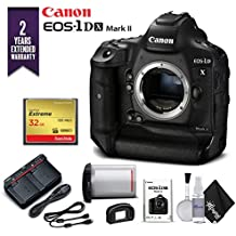 Canon EOS-1DX Mark II DSLR Camera (Body Only) With 2 Year Extended Warranty - Starter Kit