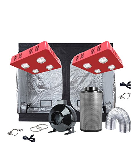 Oppolite Indoor Marijuana Grow Tent Kit Complete Package LED 300W Grow Light Kit +4u2033 Inline Fan Filter Combo+ 600D Grow Tent Hydroponics Growing System  sc 1 st  Marijuana Grow Box & Mother Load: KIND LED Clone u0026 Propagation Station Complete Grow ...