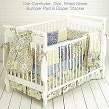 Kwik Sew Crib Comforter Skirt Fitted Sheet Bumper Pad & Diaper Stacker Pattern