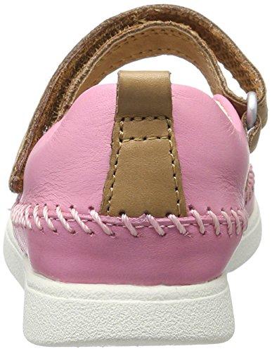 Clarks Mädchen Tri Molly Inf Geschlossene Ballerinas Pink (Pink Leather)