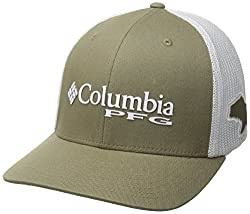 Columbia Adult Pfg Mesh Ball Cap, Sagebass, Smallmedium