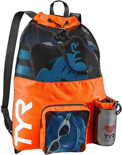 TYR Big Mesh Mummy Backpack, Orange, One Size (Mesh Backpack)