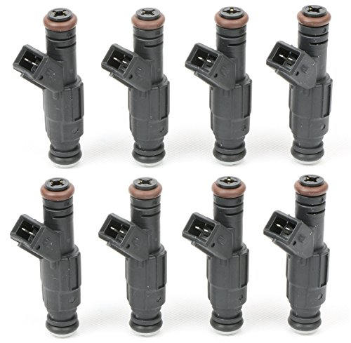 MOSTPLUS 830cc EV1 Fuel Injectors Fits LT1 LS1 LS6 LSX Engines (Set of 8) Replaces FI114992 Lt1 Fuel Rail
