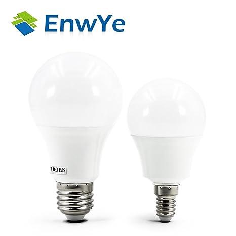 Brilife - Bombilla LED para casquillos E14 y E27, CA, 220V 230V 240V 15W