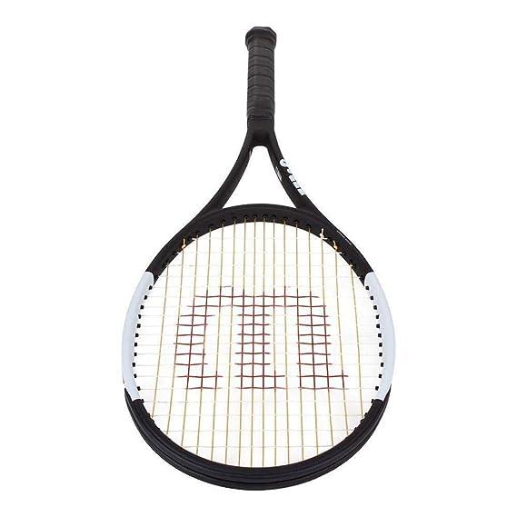 Amazon.com : Wilson Pro Staff Roger Federer 97L Tuxedo Tennis Racquet (4 1/2