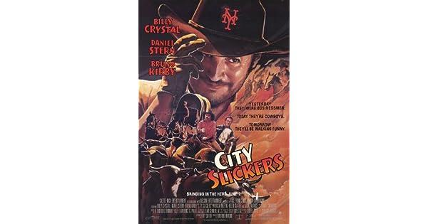 Amazon.com: Póster de película Ciudad slickers B 11 x 17 ...