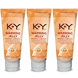 K-Y Warming Jelly Lubricant, 5 oz. (Pack of 3)