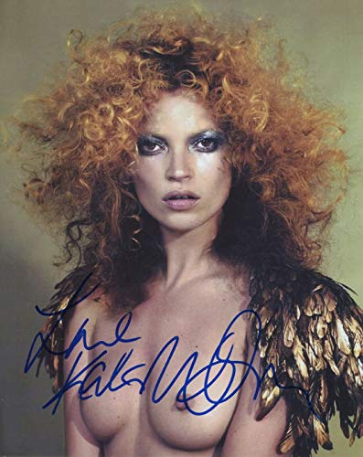 Kate Moss Signed Autograph Super Model Sexy Wild Hair 8x10 Photo With COA PJ from PJ's Collectibles