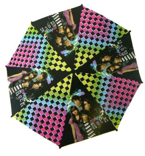 Disney Camp Rock Raingear - Jonas Brothers Umbrella w/ Guitar Top (Rock Brothers Jonas)
