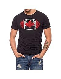 Jack Of All Trades Batman Canadian Flag T-Shirt