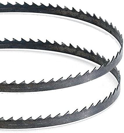 Powertec 64-1//2 inch Steel Band Saw Blade Bandsaw Wood Metal Cutter Tool 24 TPI