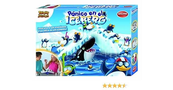 Bizak - Panico En El Iceberg 35001905: Amazon.es: Juguetes y juegos