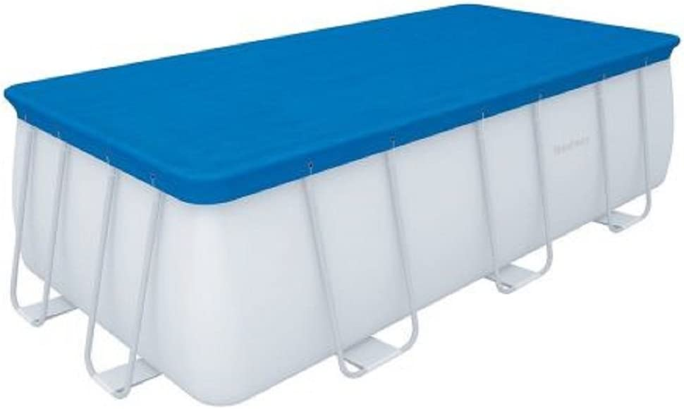 Top cubierta piscina con marco Bestway 58472 cm.488 x 244: Amazon ...