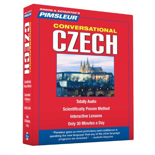 Pimsleur Czech Conversational Course - Level 1 Lessons 1-16 CD: Learn to Speak and Understand Czech with Pimsleur Language (Czech Language Lessons)