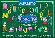 Peppa Pig - Prancheta Para Colorir: Alfabeto - Supersérie