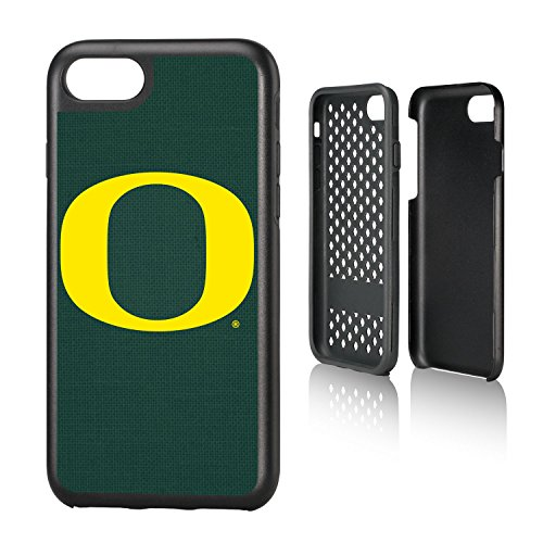 Keyscaper KRGDI7-00UO-SOLID1 Oregon Ducks iPhone 8/7 Rugged Case with U of O Solid Design