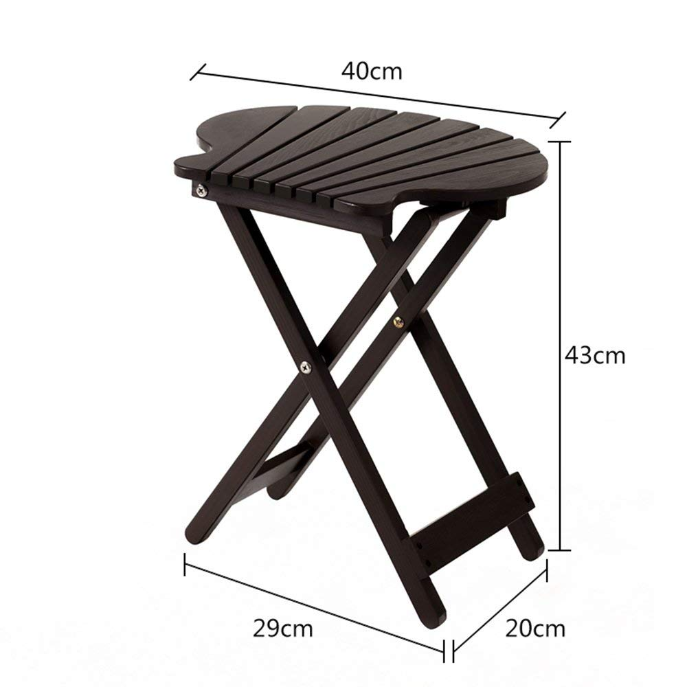 WI Flower Stand-Flower Rack Multifunction Solid Wood Balcony Folding Table Indoor Storage Racks Coffee Table Green Plants Bonsai Frame,Red by WI