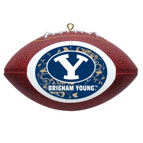 Brigham Young Byu Cougars Football (NCAA Brigham Young Cougars Mini Replica Football Ornament)