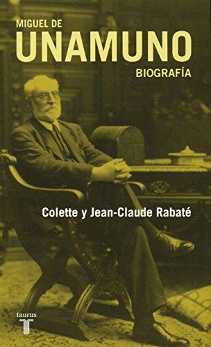 Descargar Libro Miguel De Unamuno: Una Biografía Jean-claude Rabaté