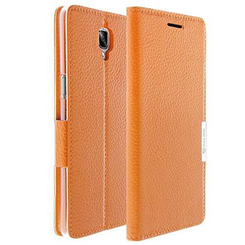 Genuine Leather OnePlus 3T Wallet Case, Cover...