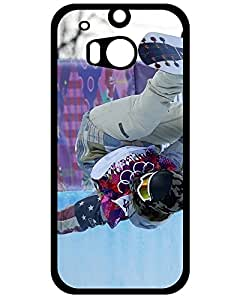 NBA Galaxy Case's Shop New Style Elegant Snowboarding Hard Case for Htc One M8 (Snowboarding) 4339113ZF402653970M8