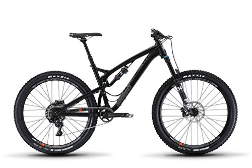 "Diamondback Bicycles Release 3 Full Suspension Mountain Bike, Black, 15.5""/Small"